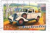 Ford Coupe Utility 1934 フォード クーペ