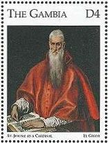『St.Jerome as a Cardinal』  グレコ