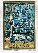 ピカソ 絵画切手
