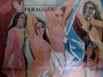 『アヴィニオンの娘たち』(パラグアイ) パブロ・ピカソ