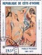 『アヴィニオンの娘たち』(コートジボアール) パブロ・ピカソ