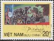 『戦争』(ベトナム) パブロ・ピカソ 絵画