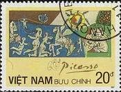 『平和』(ベトナム) パブロ・ピカソ 絵画