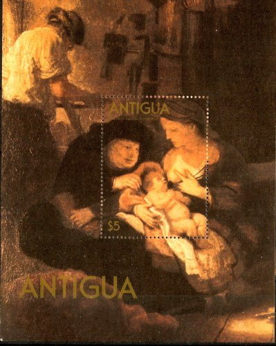 『The Holy Family』 1640 Rembrandt Harmensz van Rijn 授乳する聖母