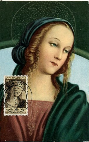 ピエトロ・ペルジーノ Pietro Perugino (1446-1524), Detail Madonna Enthroned between St John and St Sebastian
