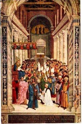 ピントゥリッキオ(Pinturicchio)の絵葉書 天才が跋扈したルネサンス時代の絵画切手 ル
