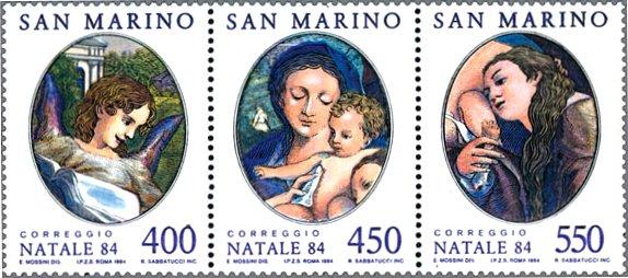 コレッジョ ■イタリア特別編 [ イタリアのトップ 天才が跋扈したルネサンス時代の美術切手 ルネ