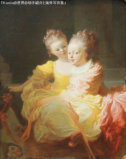 フラゴナール(Fragonard )|The Two Sisters