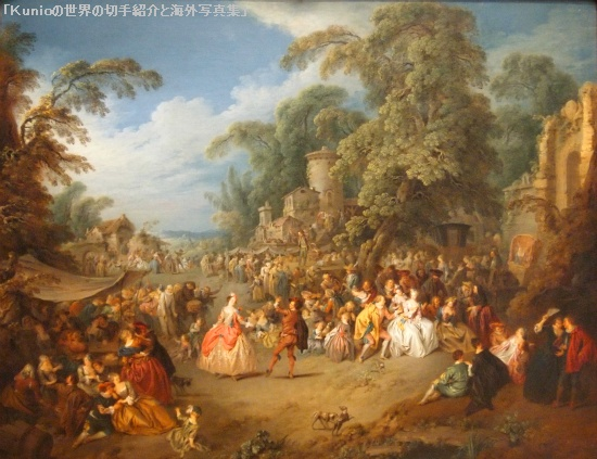 The Fair at Bezons, ca. 1733 ブゾンの祭|Jean-Baptiste-Joseph Pater (French, 1695-1736)