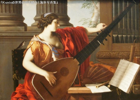 Allegory of Music. 1649. Laurent de La Hyre (Baroque painter)