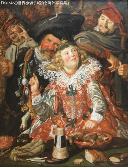 Merrymakers at Shrovetide, ca. 1616-17|Frans Hals (Dutch, 1582/83-1666)