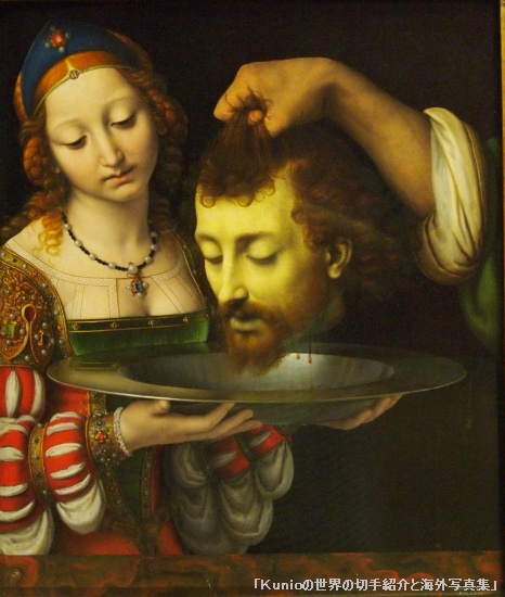 Salome with the Head of Saint John the Baptist, probably ca. 1506-7  Andrea Solario (Italian, Milanese, active by 1495, died 1524)