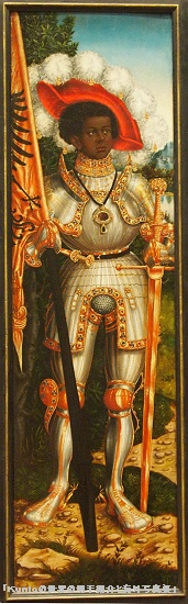 Saint Maurice, ca. 1522-25|Lucas Cranach the Elder (German, 1472-1553) and Workshop