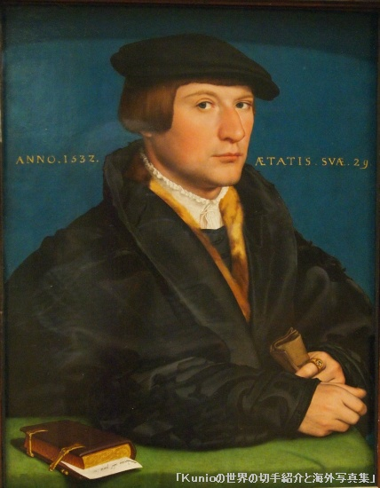 Portrait of a Member of the Wedigh Family, Hans Holbein the Younger