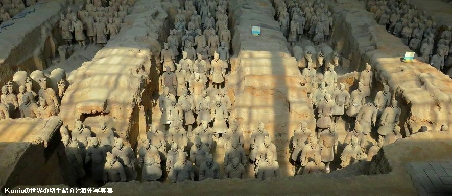 秦始皇兵馬俑博物館(The Museum of Qin Terra-cotta Warriors and Horses)