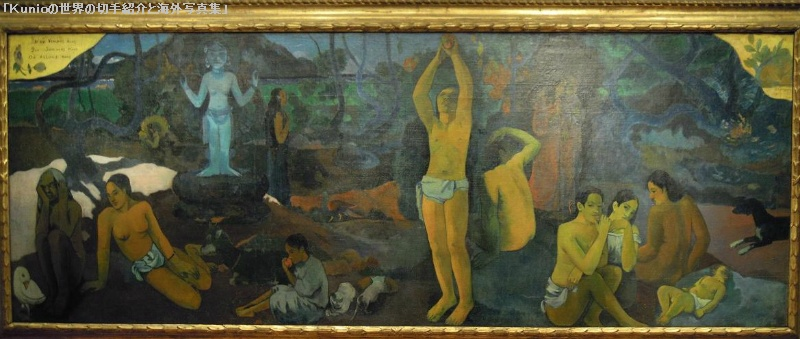 Paul Gauguin's 'Where Do We Come From? What Are We? Where Are We Going?',