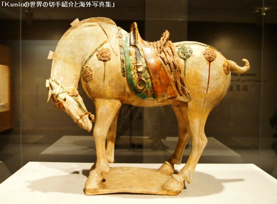 Horse Chinese, Tang dynasty, early 8th century A.D.
